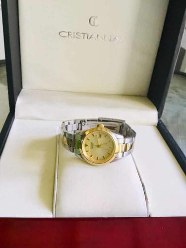 3edd9f1fff26 Reloj Citizen Modelo Exclusivo Bicolor Calendar Dama