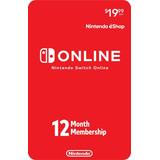 Nintendo Switch Online 12 Meses [ Código Digital ]