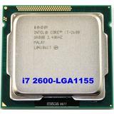 Cpu Core I7 2600 3.4ghz Ideal Para Actualiza Tu I3 O Pentium