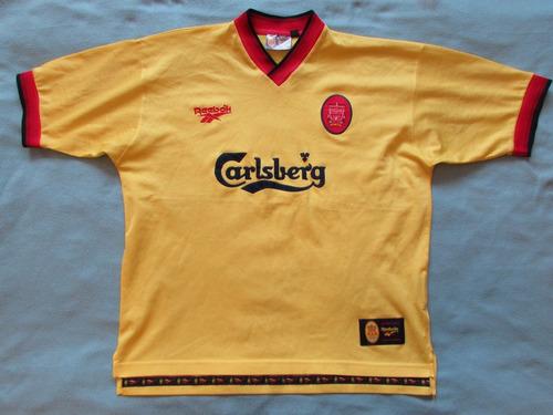 7b78cfde715 2da Camiseta Del Liverpool 1997 Reebok
