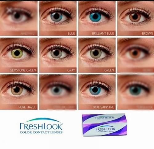a0c8a63604 2 Pack Lentes De Contacto Freshlook. Envio Gratis