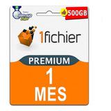 Cuentas Premium 1fichier 30 Dias - Oficial 100% Original