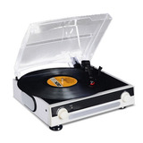 Tocadiscos Pro Music Usb Parlante Graba Convierte Mp3 R4704