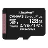 Memoria Tarjeta Micro Sd Xc Kingston 128gb C10 Epa
