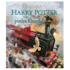 Harry Potter Y La Piedra Filosofal / Edicion Ilustrada
