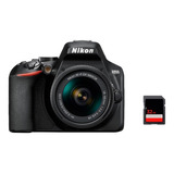 Camara Nikon D3500 Kit 18-55mm + Memoria Sd 32gb