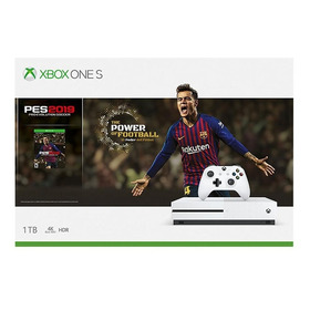 Consola Xbox One S 1tb + Pes 2019