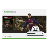 Consola Xbox One S 1tb + Pes 2019