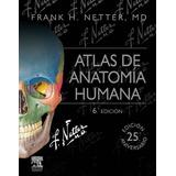 Atlas De Anatomia Humana Frank Netter 6 Ed Tamaño Bolsillo