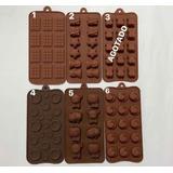 Molde De Silicona Para Chocolate Diferente Modelos