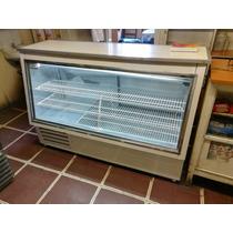 Mesón Vitrina Refrigerada