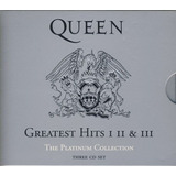 Boxset Cd Queen Platinum Collection Greatest Hits 1, 2 & 3