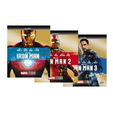 Pack Bluray Iron Man 1 - 2 - 3