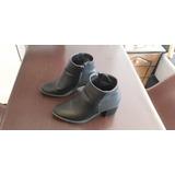 Zapatos De Damas, Color Negro, Talla 35