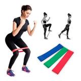 Pack 3 Bandas Elásticas Loop Circulares Pilates Aerobico