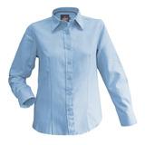 Blusa Oxford Trend Premium M/l Mujer Uv+ Protección