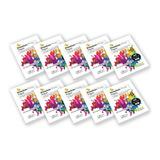 Papel Fotografia G135gr Pack 10 De 50 Hojas C/u Adhesivo