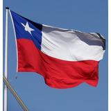 Banderas Chilenas 120 X 180 Trevira Reforzada / Barbazar Spa