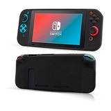 Carcasa Protectora Silicona Nintendo Switch Negro - Prophone