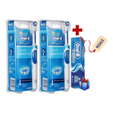 Pack 2 Cepillo Dientes Eléctrico Recargable Oral-b Vitality