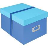 Estuche De Almacenamiento Para Cd Allsop De 38 Discos (azul)