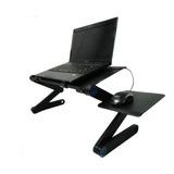 Mesa Plegable Portátil Para Notebook Con 2 Ventiladores