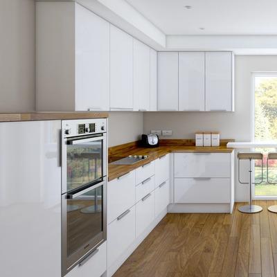 Compra Cocina Minimalista / Muebles De Cocina / Diseño Italiano /m4 ...