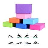 Fitness Yoga Ladrillo Goma Eva, Pilates Deporte / 50158