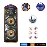 Parlante Karaoke Grande Dj Mixer Bowmann Bt C/microfono / Zf