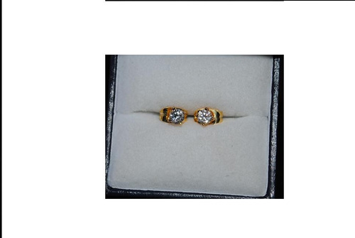 5dd2f9635e2b Bellos Aritos Diamantes Laboratorio Engaste Oro 14 Kts.