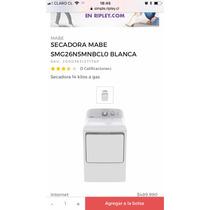 Secadora Mabe A Gas 14k Nueva