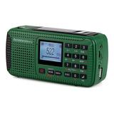 Tivdio Hr-11s Digital Radio Fm / Mw / So Multi -band Emergen