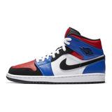 Nike Air Jordan 1 Mid Hombres Y Mujeres Moda Zapatillas