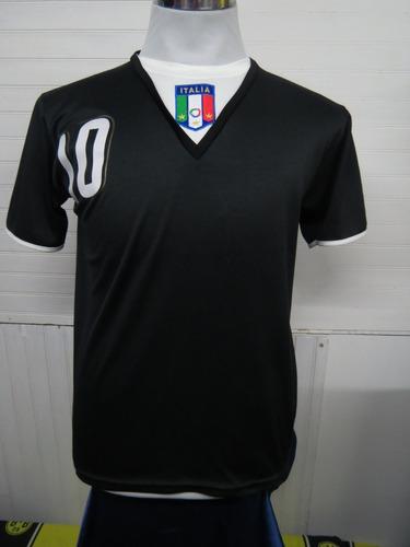 Camiseta Selección Italia Negra Talla S Totti 1fb9bd8e0ca7c