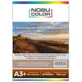 Papel Foto Matte Doble Cara Nobucolor A3+ 140 Gr. 20 Hojas