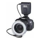 Flash Led Macro Fc100 Canon Y Nikon Con Adaptadores C/ Envío