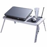Mesa Plegable Para Notebook Y Netbook Con Cooler Loi Chile