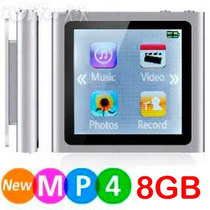 Reproductor Mp4 Mp3 6ta Generación 8gb Fm Video Foto