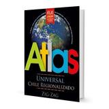 Pack 4 Atlas Universal Chile Regionalizado Ed Zig-zag