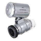 Mini Microscopio Bolsillo 60x  Con Luz Led Y Uv Fullventas