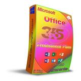 Compra Ya, Y Activa Tu Offic 365 Pro Plus Original 5 Equipos