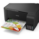 Epson Multifuncional L3150 Wifi + Juego Tintas Extra T544