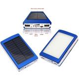 Bateria Portatil Externa 20.000 Mah 2 Usb Solar Powerbank