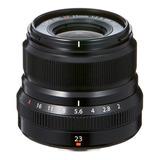 Lente Fujifilm Xf 23mm F/2 R Wr (12665)