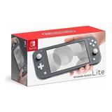 Consola Nintendo Switch Lite, Gris + Lamina Vidrio + Envío