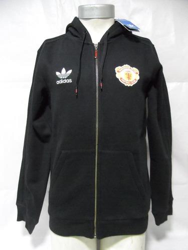 Polerón Manchester United adidas Originals Nuevo C gorro ed06784e8caa6