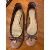 Zapatos Ballerina Gacel Color Cafe Claro
