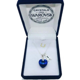 Joyas Swarovski Collar Personalizado Inicial  De Tu Nombre