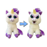 Peluche Feisty Pets Unicornio Kawaii