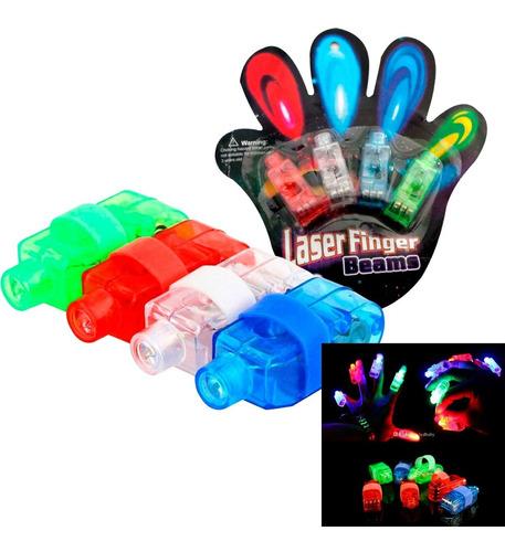 Laser Finger Beams Dedos Laser Led Fluor Cotillon Fiestaclub
